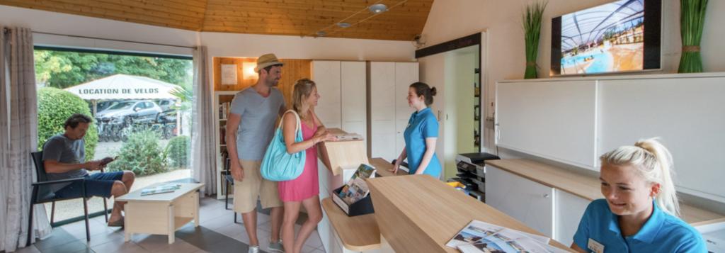 Du paiement cashless au camping Pommeraie de l'Océan