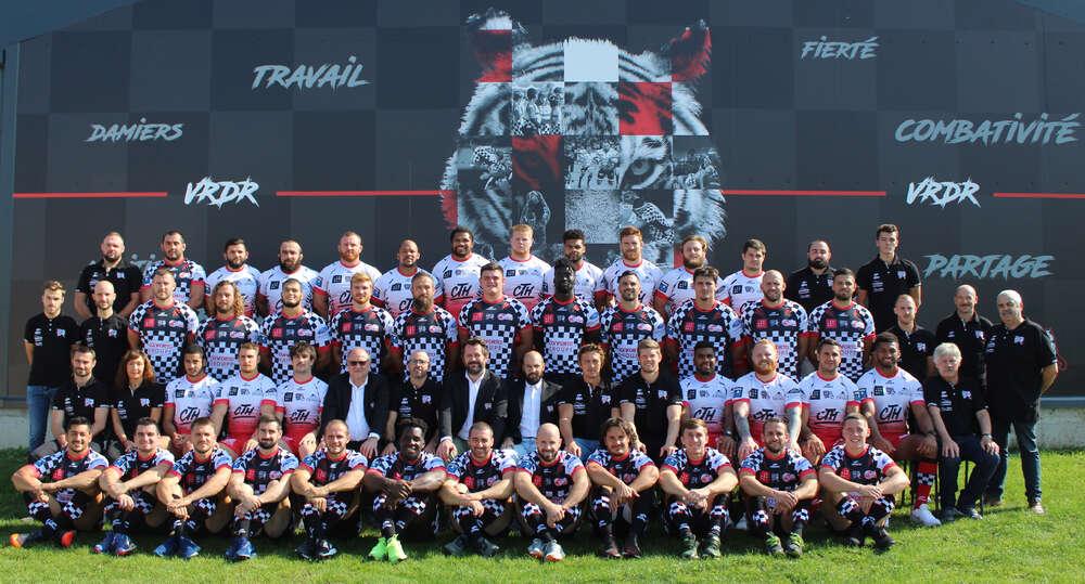 Equipe Cashless à Valence Roman Drôme Rugby
